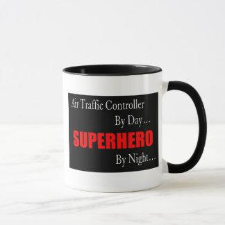 Superheld-Fluglotse Tasse