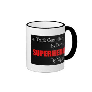 Superheld-Fluglotse Ringer Tasse