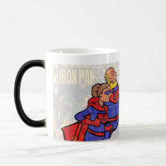 Superheld-Geschenk für Großvater Verwandlungstasse