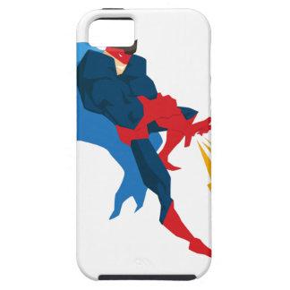 Superheld in der Aktion Hülle Fürs iPhone 5