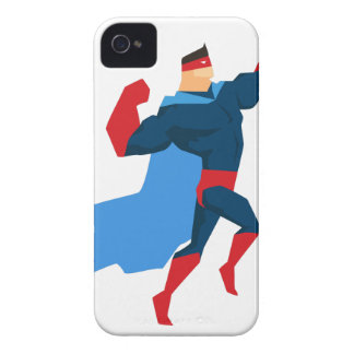 Superheld in der Aktion iPhone 4 Cover