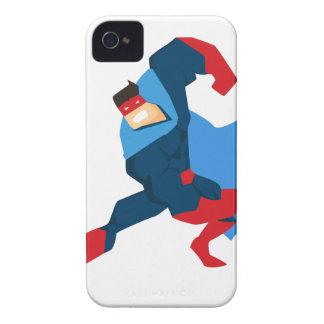 Superheld in der Aktion iPhone 4 Hülle