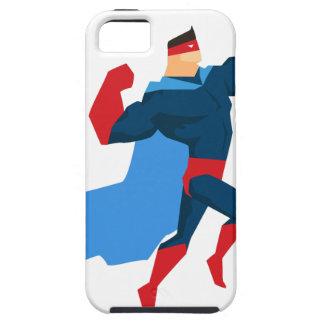 Superheld in der Aktion iPhone 5 Hülle