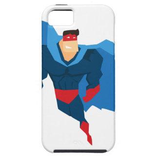 Superheld in der Aktion iPhone 5 Schutzhülle