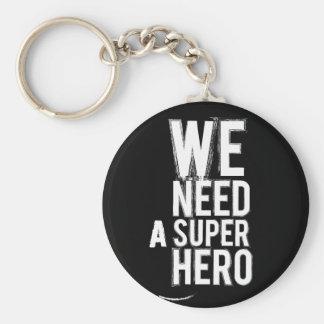 Superheld keychain schlüsselanhänger