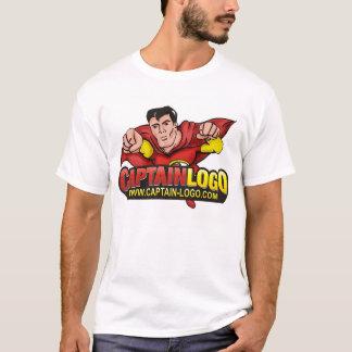 Superheld-Kleid Kapitän-Logo T-Shirt