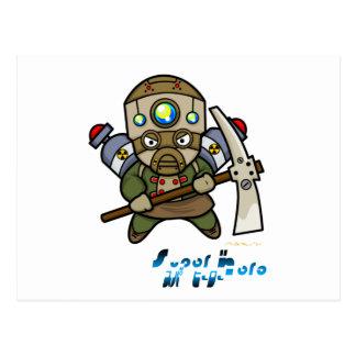 Superheld - LoKo Postkarte