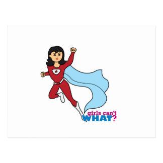 Superheld - Medium Postkarte
