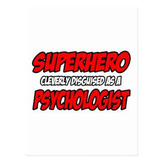 Superheld-… Psychologe Postkarte