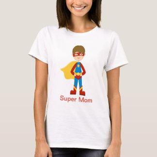 Superheld-Shirt für eine Supermamma T-Shirt
