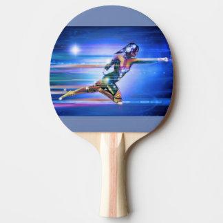 Superheld Tischtennis Schläger