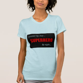 Superheld-Untersuchungsrichter T-Shirt