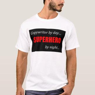 Superheld-Werbetexter T-Shirt