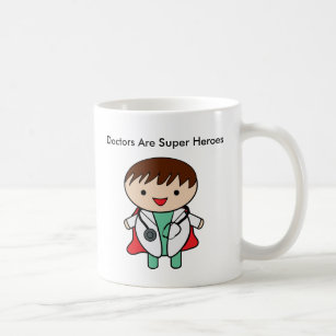 Superhelder Doktor-Are Kaffeetasse