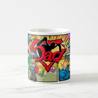 Superhero-Vati-Kaffee-Tassen Kaffeetasse