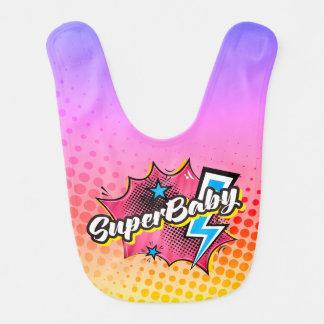 Superherobaby-Schellfischgeschenk, Babylätzchen