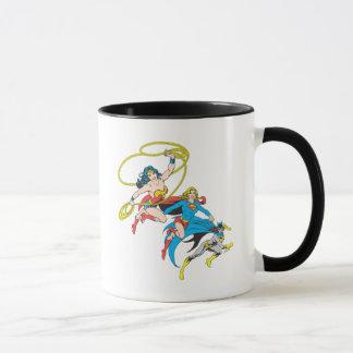 Superheroines-Sprung Tasse