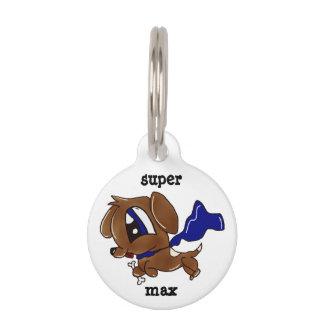 SuperHündchen-Haustier Identifikations-Umbau Haustiermarke