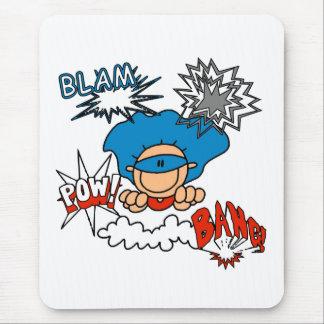 Superjunge Blam Knall-Kriegsgefangen Mousepad