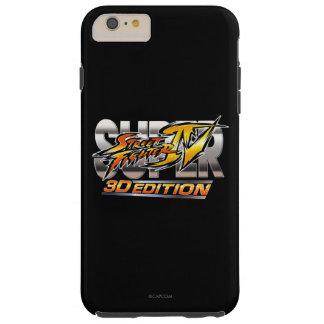 Superlogo Street Fighters IV Ausgaben-3D Tough iPhone 6 Plus Hülle