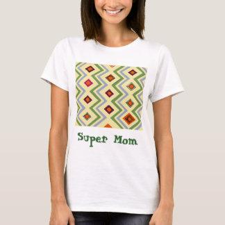 Supermamma abstrakt T-Shirt