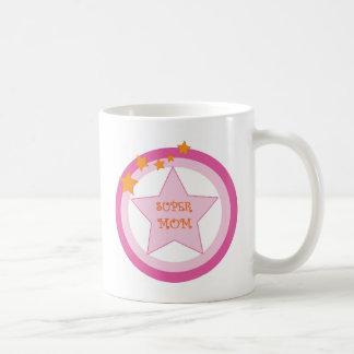 Supermamma-Abzeichen-Tasse Tasse