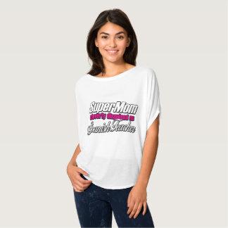 Supermamma klug verkleidet als spanischer Lehrer T-Shirt