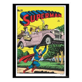 Supermann #19 postkarte