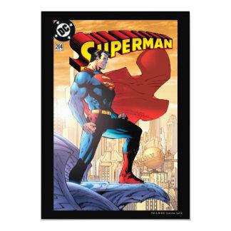 Supermann #204 am 4. Juni 12,7 X 17,8 Cm Einladungskarte