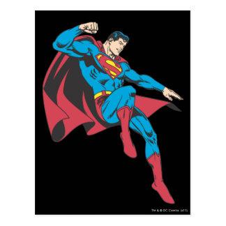 Supermann 20 postkarte