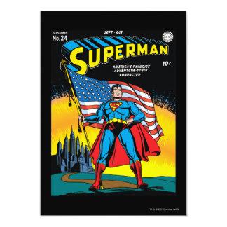 Supermann #24 ankündigungskarte