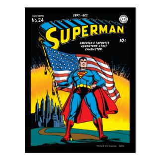 Supermann #24 postkarte