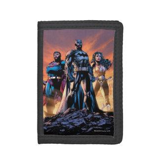 Supermann, Batman u. Wunder-Frauen-Dreiheit