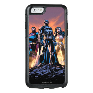 Supermann, Batman u. Wunder-Frauen-Dreiheit OtterBox iPhone 6/6s Hülle