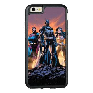 Supermann, Batman u. Wunder-Frauen-Dreiheit OtterBox iPhone 6/6s Plus Hülle