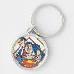 Supermann/Clark Kent Schlüsselband