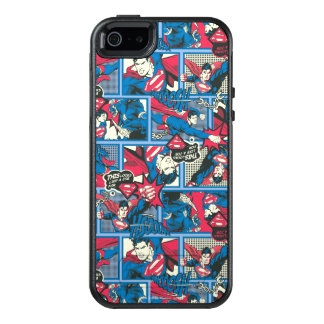 Supermann-Comic-Muster OtterBox iPhone 5/5s/SE Hülle