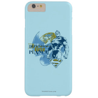 Supermann |, das den Planeten verteidigt Barely There iPhone 6 Plus Hülle