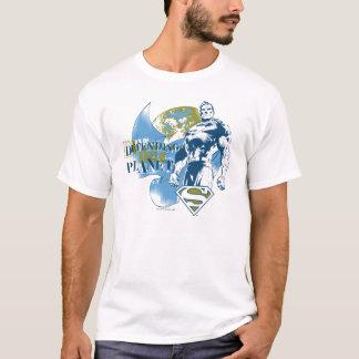 Supermann |, das den Planeten verteidigt T-Shirt
