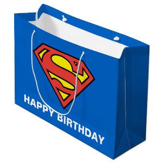 Supermann DC-Comic-| - Geburtstag Große Geschenktüte