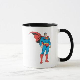Supermann, der 3 aufwirft tasse