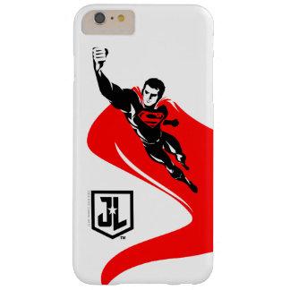 Supermann der Gerechtigkeits-Liga-|, der Noir Barely There iPhone 6 Plus Hülle