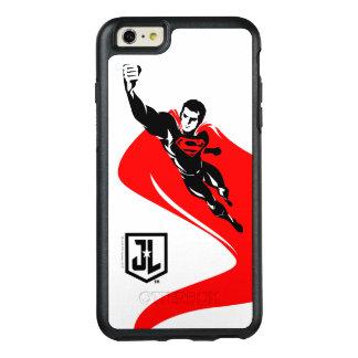 Supermann der Gerechtigkeits-Liga-|, der Noir OtterBox iPhone 6/6s Plus Hülle
