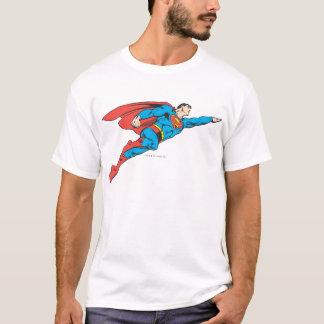 Supermann, der nach rechts fliegt T-Shirt