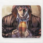 Supermann-Erdabdeckung - Farbe Mauspad