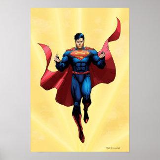 Supermann-Fliegen Poster