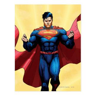 Supermann-Fliegen Postkarte