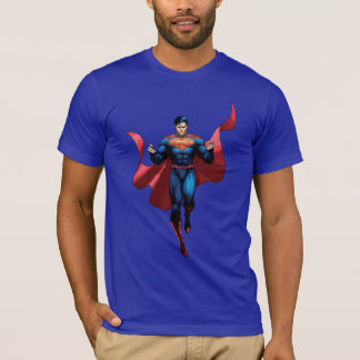 Supermann-Fliegen T-Shirt