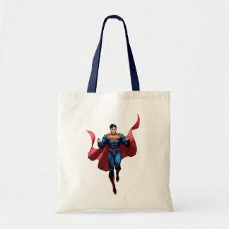 Supermann-Fliegen Budget Stoffbeutel
