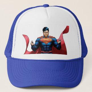 Supermann-Fliegen Truckerkappe